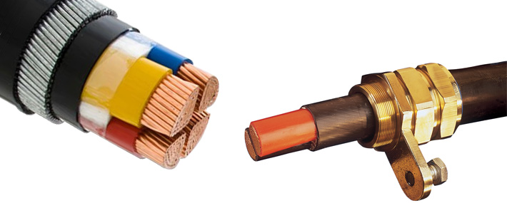 Cable glands swa cables