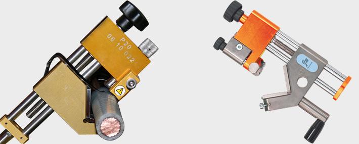 Remove bonded screen mv cable