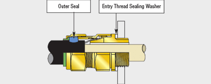 Maintaining IP66 Seal on Cable Glands and Equipment Entry