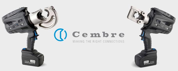 Cembre new generation crimpers b500e b1350-ce