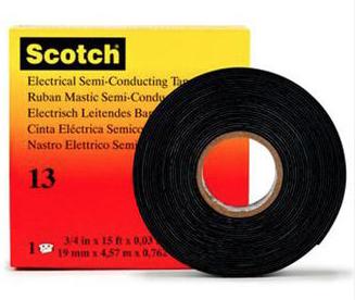 3M T1319 - Scotch 13 - Semi-Conductive Rubber Tape