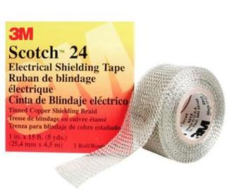 3M T2425 - Scotch 24 Copper Electrical Shielding Tape