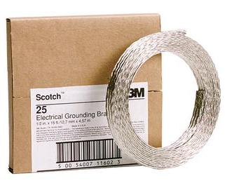 3M T2512 - Scotch 25 Grounding Braid