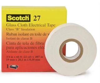 3M T2720M - Scotch 27 Glass Cloth Electrical Tape