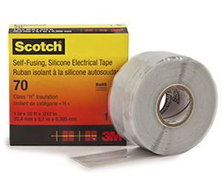 3M T7025 - Scotch 70 Silicone Rubber Self Amalgamating Tape
