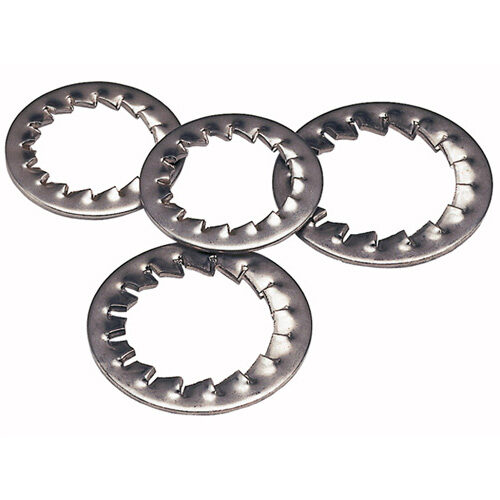 Image for BZP Serrated Steel Washers