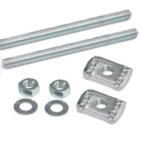 Image for Two Bolt Cable Cleat Fixing Kits