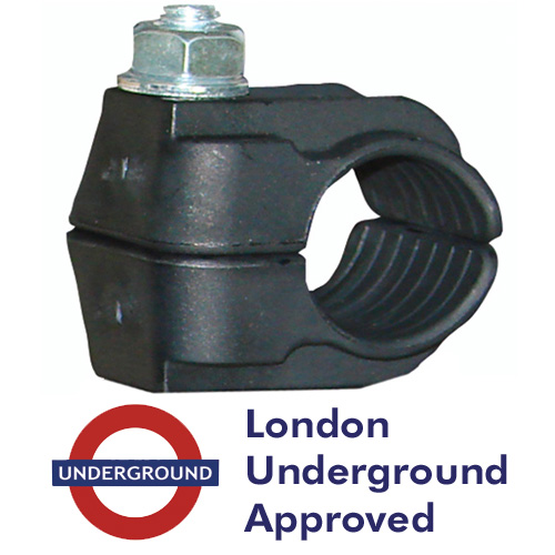 Image for LUL Approved LSF Nylon Single Bolt Cleats