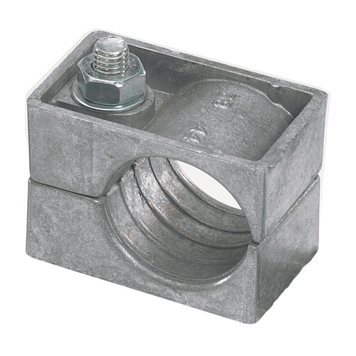 Image for Aluminium Single Bolt Cable Cleats