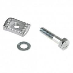 M8 x 25mm BZP Trefoil Cleat Fixing Kit