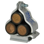 Trefoil Cable Cleats - 3Way