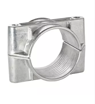 Aluminium 2A-N Range Two Bolt Cable Cleats