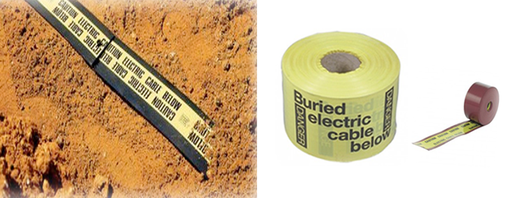Warning Tape For Underground Cable
