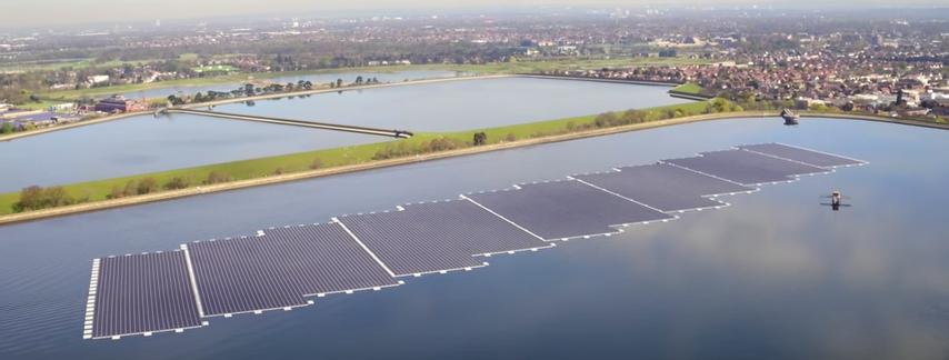World's Largest Floating Solar Farm