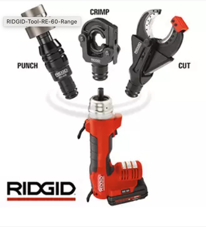 RIDGID Battery Operated Tool Accessories