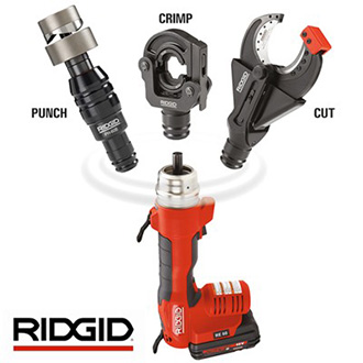 RIDGID Battery Operated Crimping & Cutting Tools