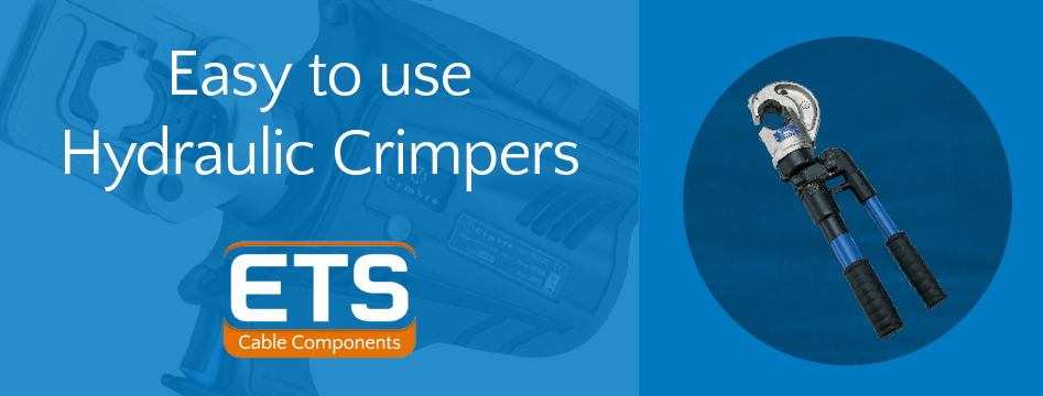 ETS Easy To Use Hydraulic Crimpers