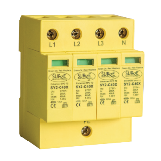 Type 2 & Type 3 Surge Protection SY2